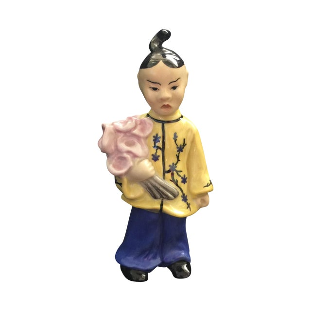 Herend Chinoiserie Figure - Image 1 of 4