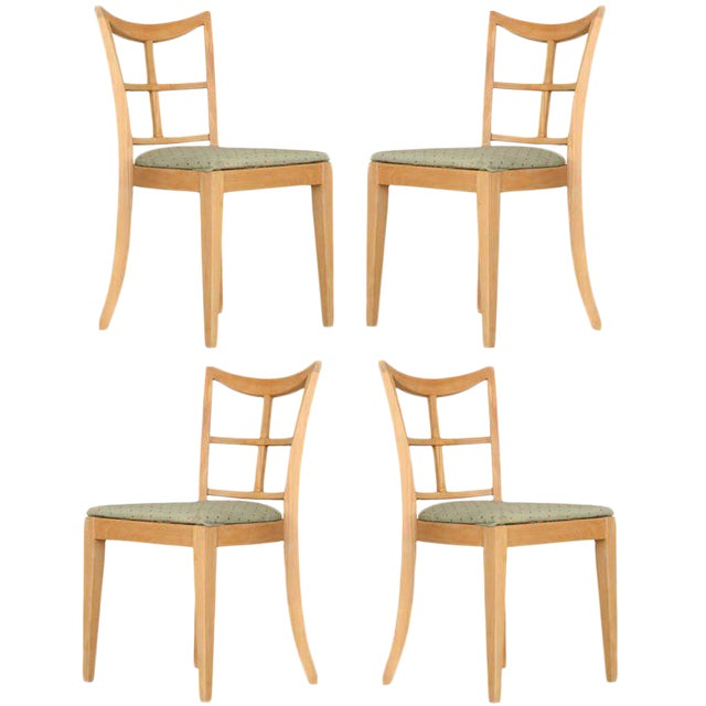 Paul Frankl for Brown Saltman Dining Chair, Set of Four For Sale