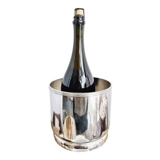 1947 Silver Plated Union Pacific Railroad Ice Bucket For Sale
