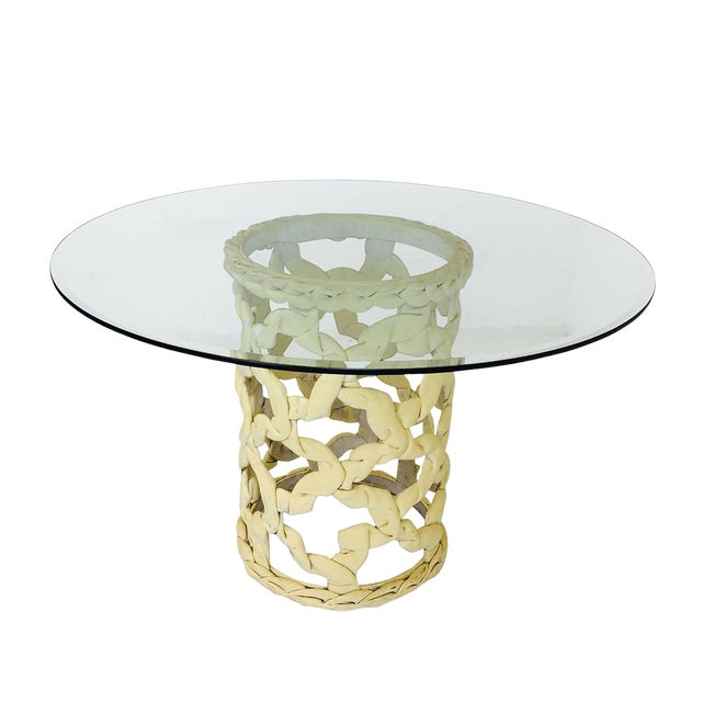 """""""Ribbon"""" Dining Table in the Style of Tony Duquette For Sale"""