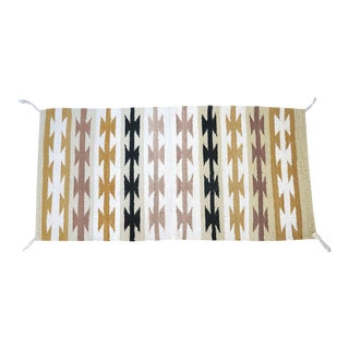 Vintage Navajo Style Rug - 2′6″ × 5′1″ For Sale