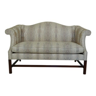 Southwood Chippendale Mahogany Loveseat For Sale