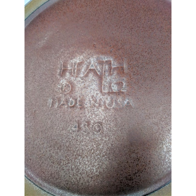 Ceramic 1980's Vintage Heath Ceramics Rim Line Serving Bowl For Sale - Image 7 of 8