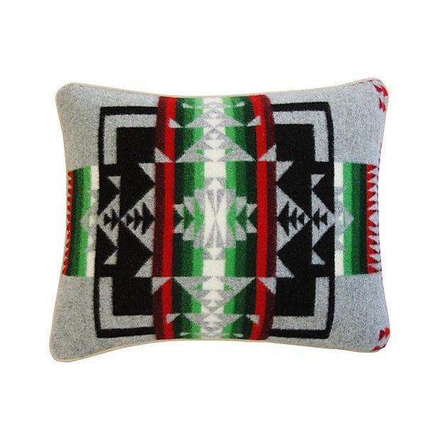 Custom Chief Joseph Pendleton Blanket Pillow - Image 2 of 7