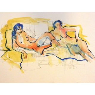 Figurative Drawing, Menage For Sale