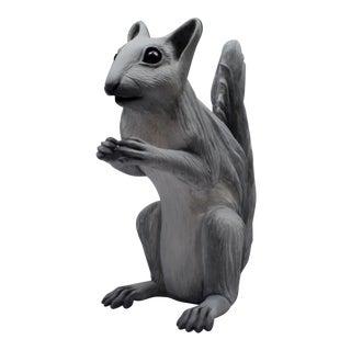 Ceramic Squirrel Sculpture For Sale