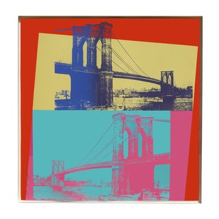 Brookyln Bridge, fs.ii.290, Screenprint by Andy Warhol, 1983 For Sale