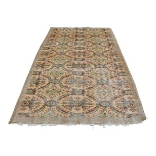 """Hand Knotted Overdyed Turkish Rug - 5' x 8'11"""""""