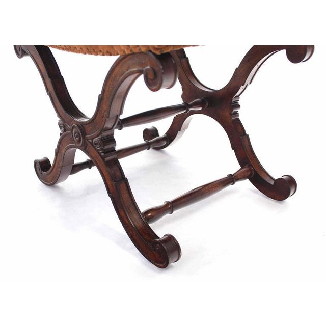 X-Base Decorative Bench For Sale In New York - Image 6 of 7