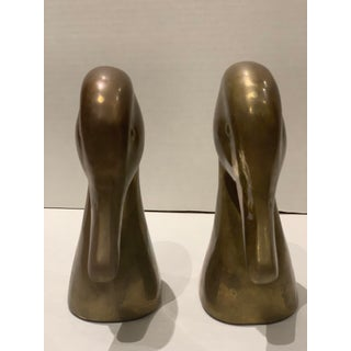 Late 20th Century Vintage Brass Duck Bookends- A Pair Preview