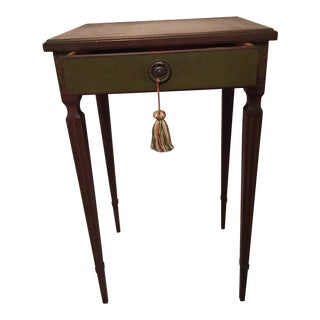 1920s French Hand-Painted Nightstand For Sale