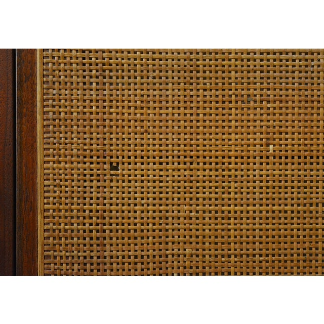 Mid Century Jack Cartwright for Founder's Furniture Walnut Armoire For Sale - Image 11 of 13