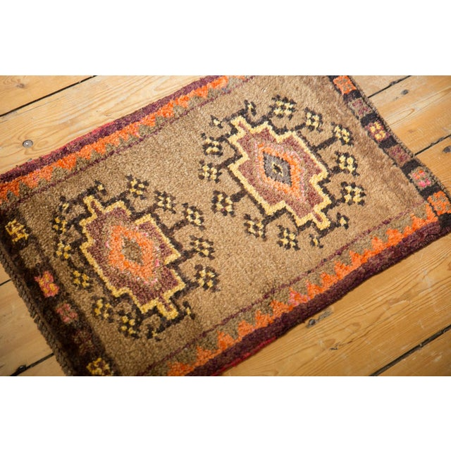 """Shabby Chic Vintage Oushak Rug Mat - 1'7"""" X 2'3"""" For Sale - Image 3 of 6"""