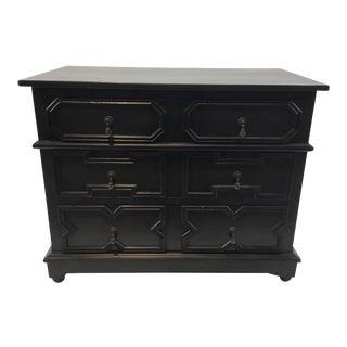 Noir Co. Transitional Black Watson Mahogany Dresser For Sale