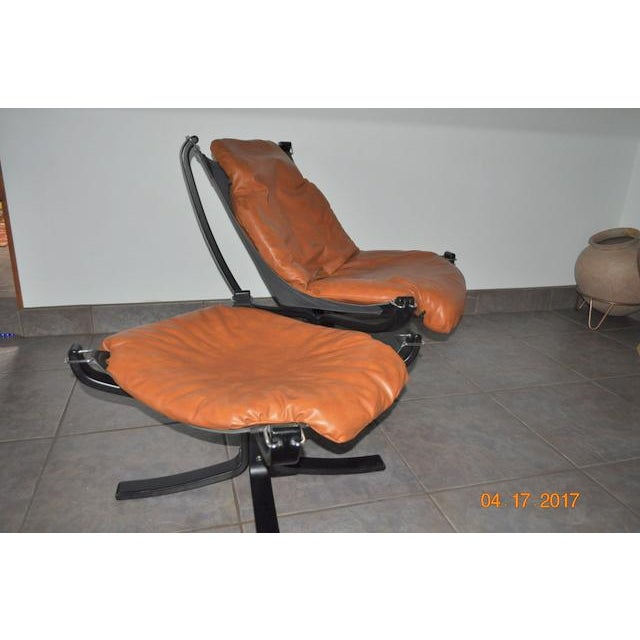 Falcon Chair and Ottoman Set - Image 6 of 8