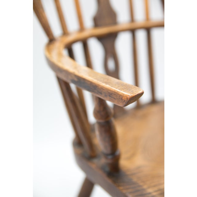 Antique 19th-Century English Windsor Child's Chair For Sale In Houston - Image 6 of 7
