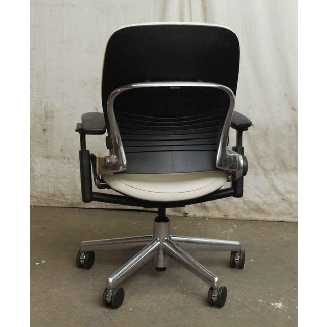 Black & White Office Chair by Steelcase For Sale - Image 5 of 8