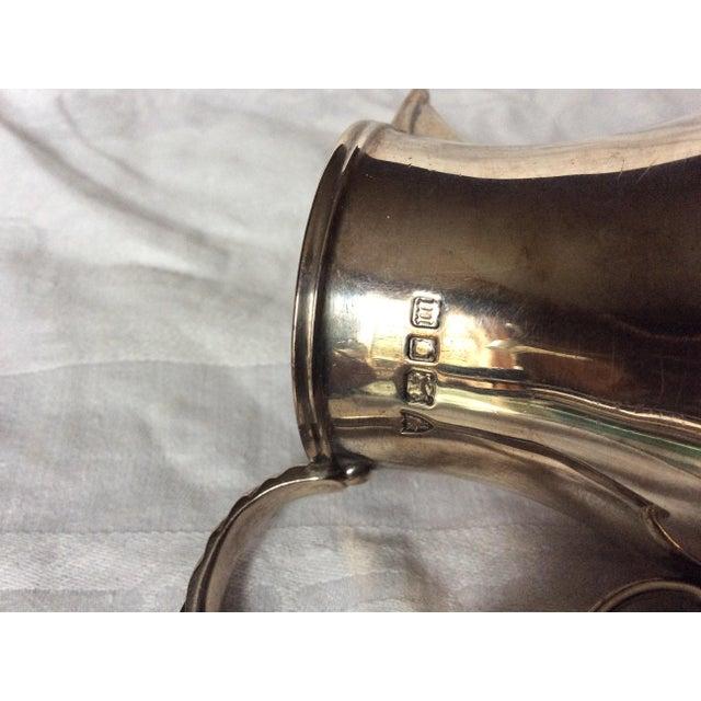 Fine English Sterling Creamer Jug For Sale - Image 5 of 8