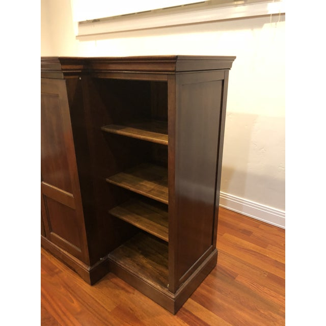 Brown Grange Louis-Philippe Entertainment Center/Armoire For Sale - Image 8 of 11