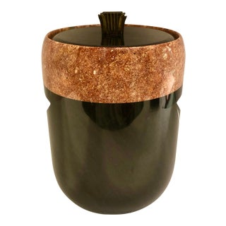 Art Deco Style Marble Ice Bucket For Sale
