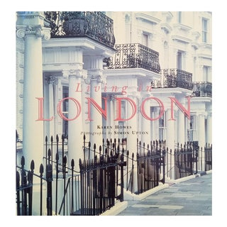 Living in London Hardcover Book by Karen Howes