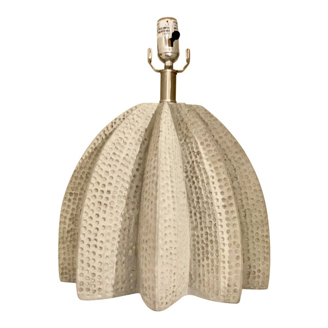 Brutalist Style Arteriors Lorenzo Concret Table Lamp For Sale