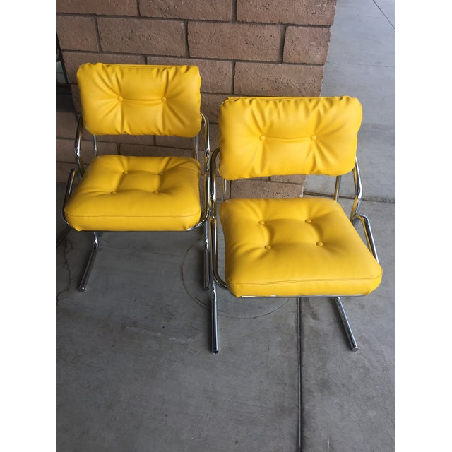 "Vintage Mid Century Jerry Johnson ""Arcadia"" Chairs - a Pair For Sale - Image 6 of 6"