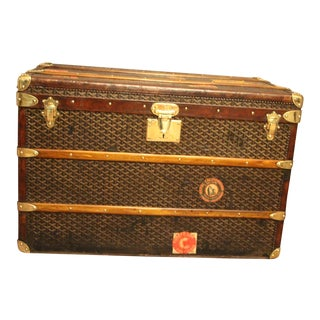 1920s Steamer Trunk From Goyard For Sale