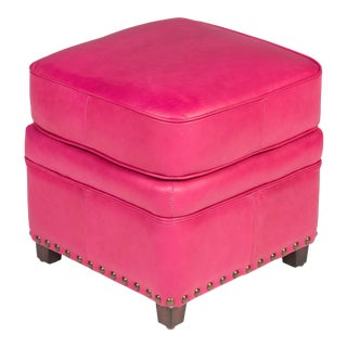 Papa's Footstool in Fuschia Pink For Sale