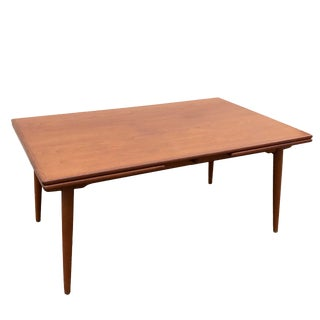 Mid-Century Modern Hans Wegner At-312 Dining Table For Sale
