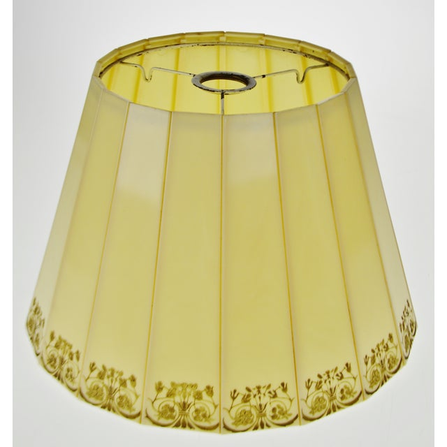 Mid Century Emeloid Lampshade For Sale - Image 12 of 13
