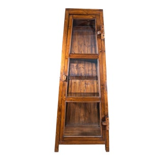 Boho Chic Zagora Display Cabinet For Sale