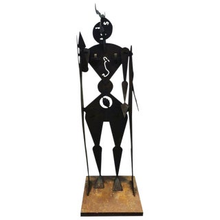 Modern Figural Sculpture by Allen Short For Sale