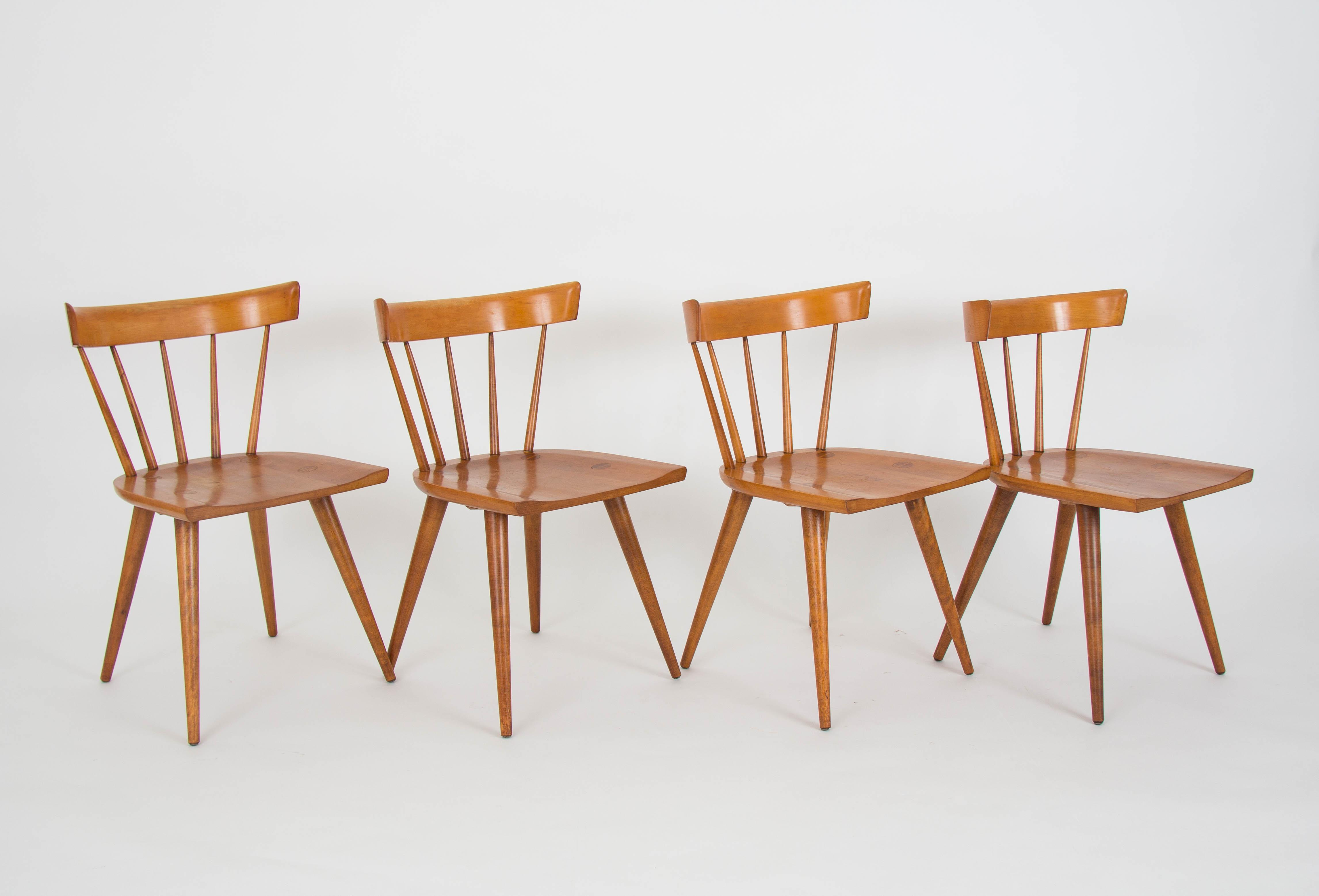 Set Of Four Paul McCobb Planner Group Dining Chairs   Image 4 Of 11