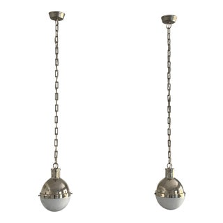 Visual Comfort Thomas O'Brien 8 Inch Hicks Mini Pendant - a Pair For Sale