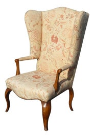 Image of French Country Wingback Chairs