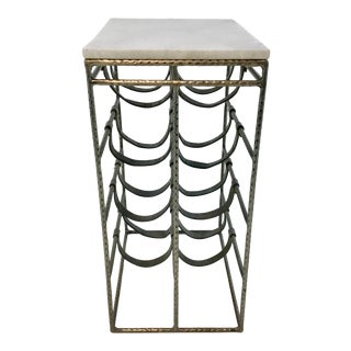 Interlude Home Modern Caymus Wine Table For Sale
