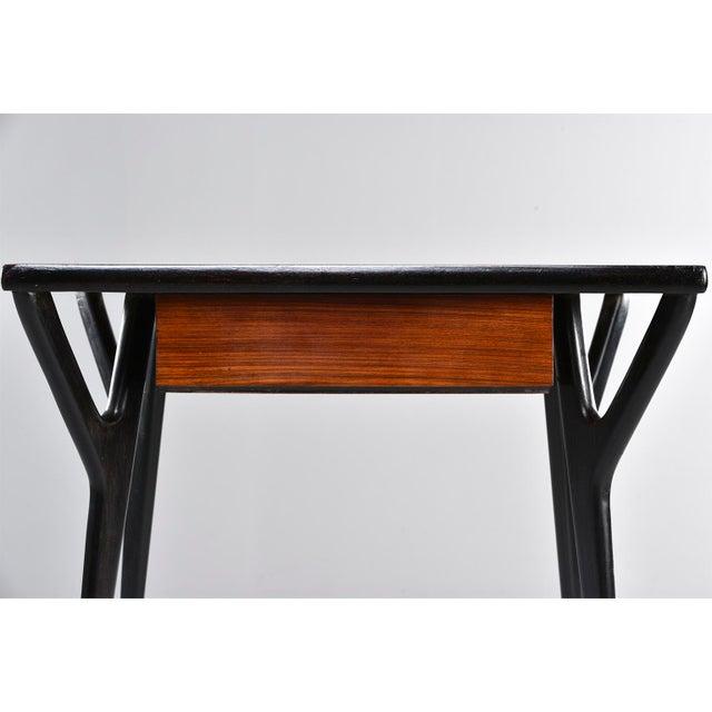 Italian Small Mid Century Italian Desk For Sale - Image 3 of 12