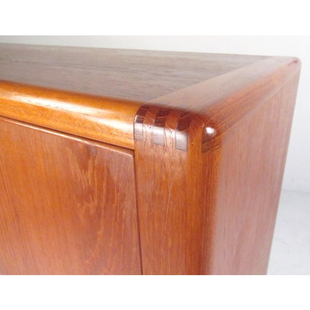 Mid-Century Modern Teak Gentleman's Chest For Sale In New York - Image 6 of 11