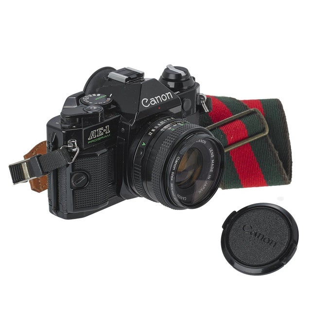 Vintage Canon AE-1 35mm Camera - Image 1 of 3