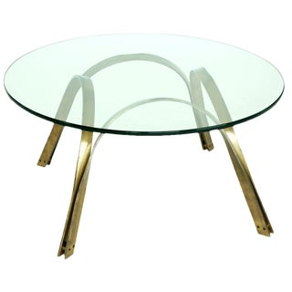 1970s Modern Roger Sprunger Trimark Coffee Table For Sale