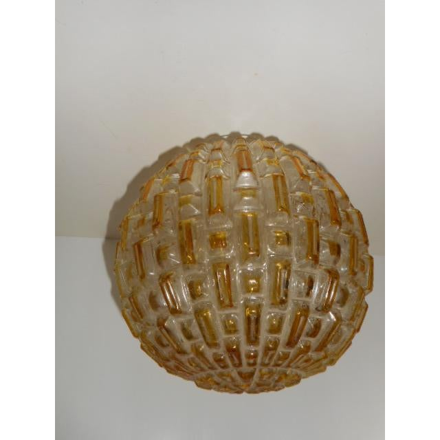 Mid Century Honeycomb Ceiling Light Shade Lamp - Image 5 of 7