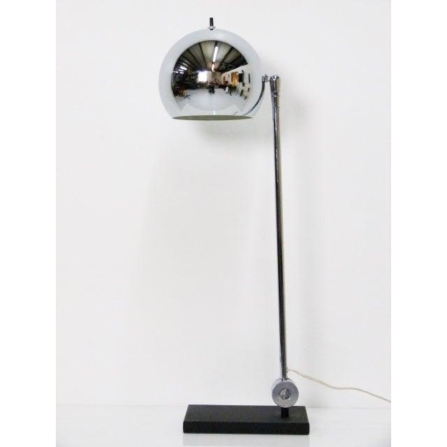 Robert Sonneman Chrome Ball Desk Lamp - Image 2 of 5