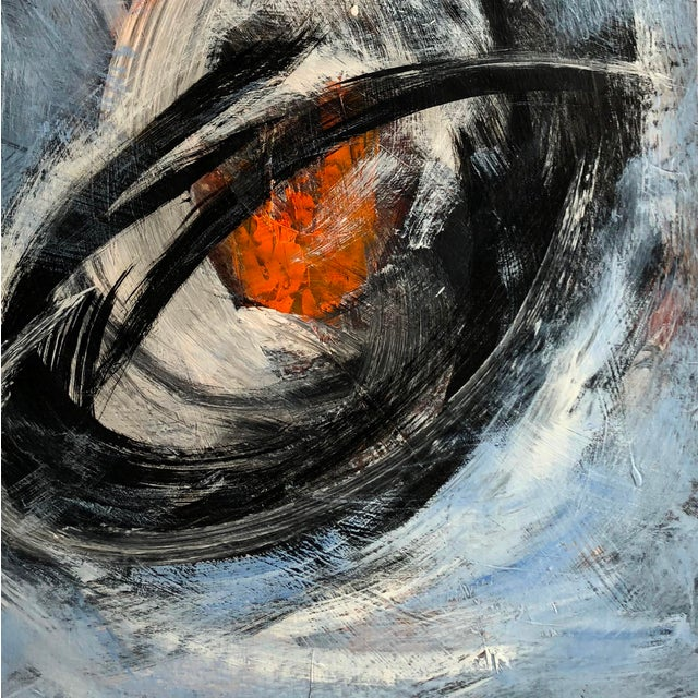 """Abstract Marko Kratohvil """"Behind the Illusion"""" Contemporary Painting For Sale - Image 3 of 5"""