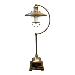 Industrial Transitional Lamp For Sale