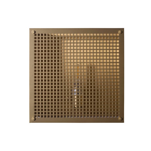 Modern Contemporary 000 Sconce in Brass by Orphan Work For Sale