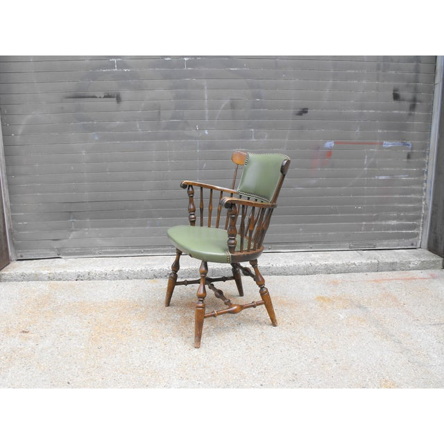 Nichols & Stone Arm Chairs - Set of 4 - Image 3 of 8