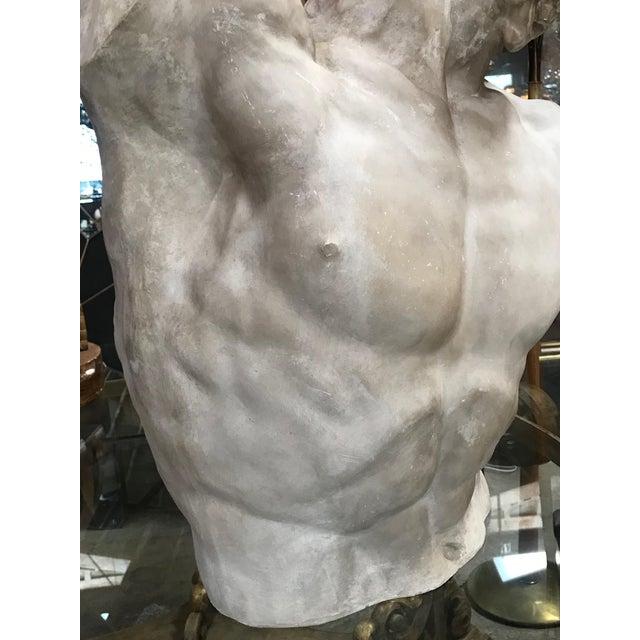 """Laocoon"" Plaster Bust Sculpture For Sale - Image 11 of 13"