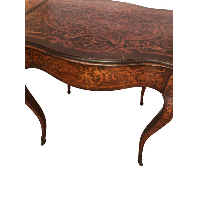 French French Drop Leaf Table For Sale - Image 3 of 10