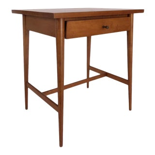 1950s Mid Century Paul McCobb Planner Group Nightstand, Model 1586 For Sale